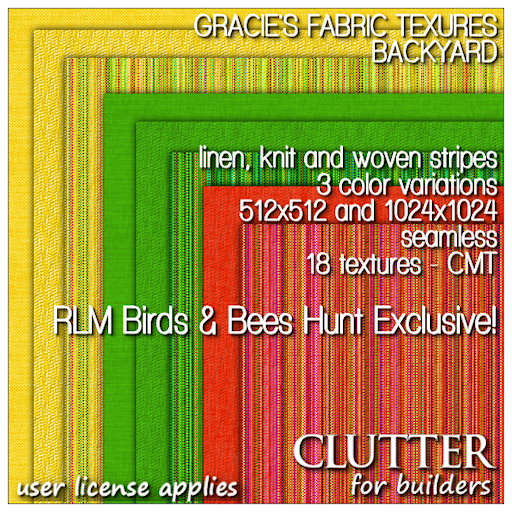 RLM Birds and Bees Hunt - Clutter for Builders  EXCLUSIVE